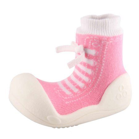 Attipas Baby Footwear; Attipas Girl's, 1-pair, Size: 5.5, Pink