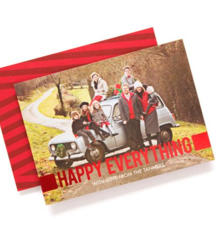 card design: Feeling Happy (foil stamped)Christmascards, Christmas Cards, Cards Ideas, Foil Stamps Cards, Stamps Holiday, Holiday Cards, Feelings Happy, Robyn Miller, Tiny Prints