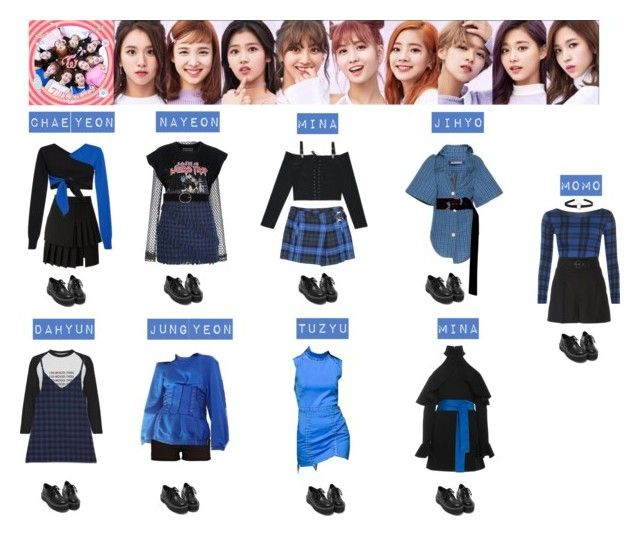 Twice Tt 💛💙💜💚 My Polyvore Finds Fashion Outfits