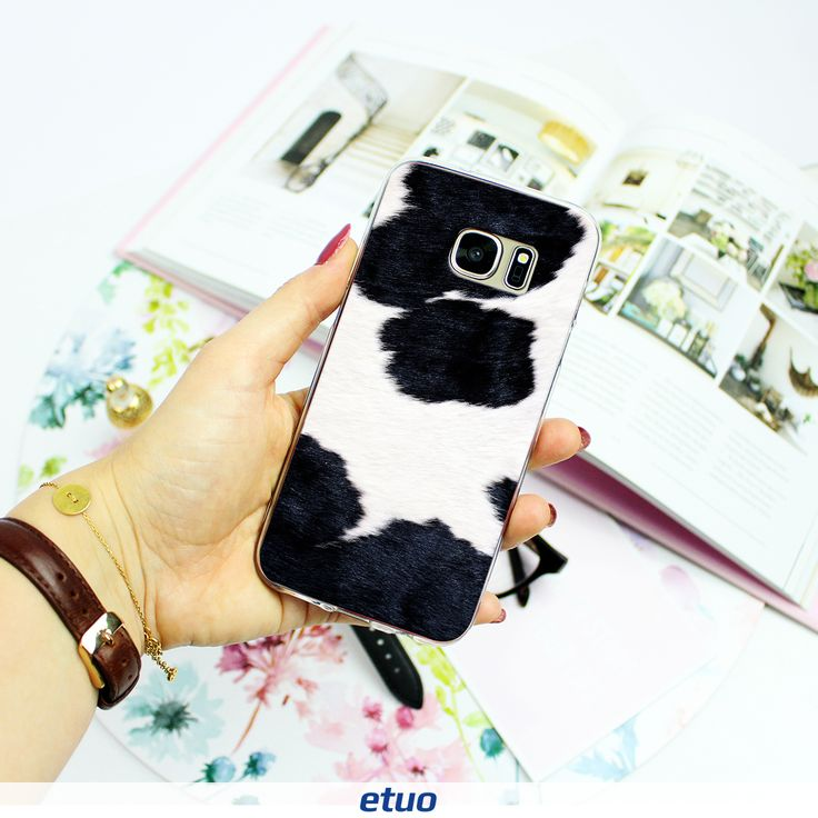 #cow #fur #case #phonecase #style #fashion #accessories Animal Pattern Case Collection <3