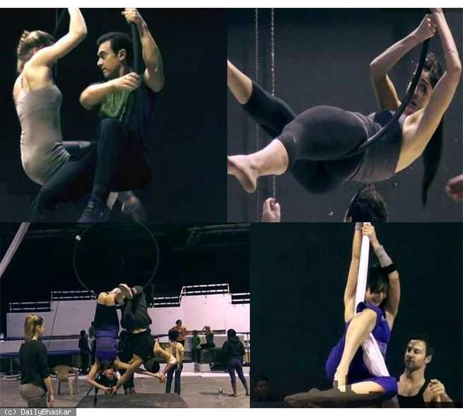 Making of Dhoom 3 song Malang: This is how Katrina, Aamir Khan became polished acrobats The much talked about Dhoom 3 song Malang is making headlines for being the most expensive song ever shot in the history of Indian cinema.  http://daily.bhaskar.com/article-hf/ENT-making-of-dhoom-3-song-malang-this-is-how-katrina-aamir-khan-became-polished-acr-4451645-PHO.html