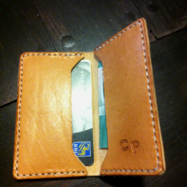 how to make a mens wallet out of fabric