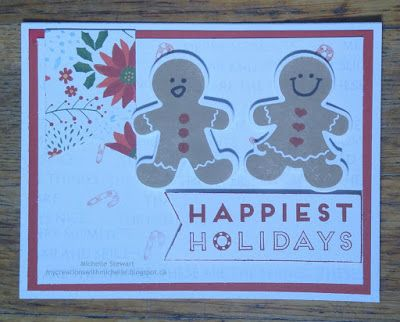 Creations With Michelle: Introducing Beary Christmas 1 Sheet Wonder 20 Card Workshop