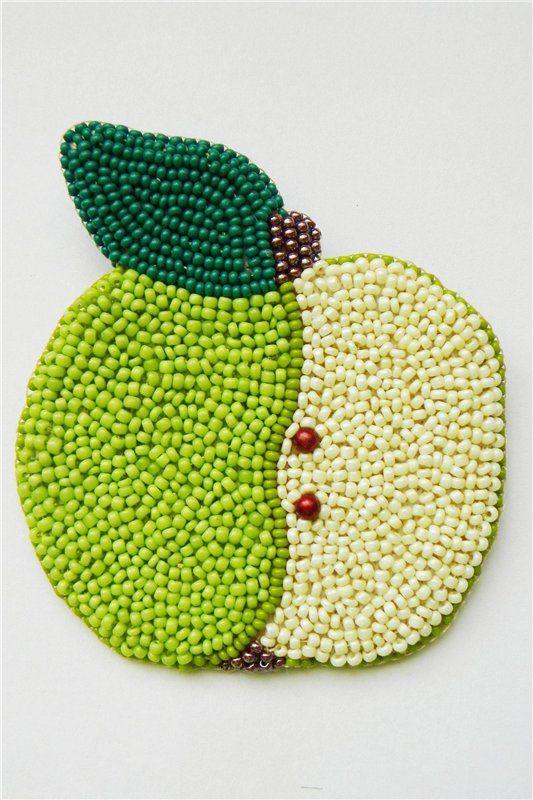 Фрукты-ягоды | biser.info - всё о бисере и бисерном творчестве