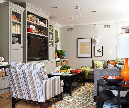 Living Room Trimwork Ideas Family Rooms Storage And Tvs