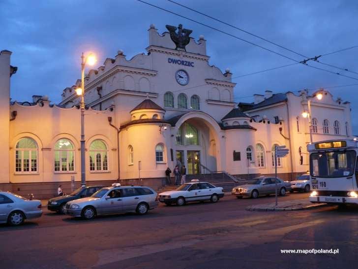 Railway Station, Lublin
