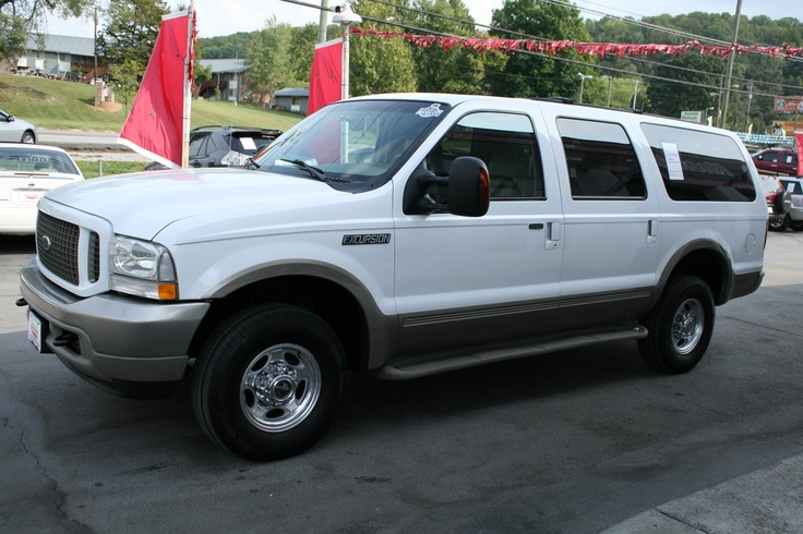 Used 2004 Ford Excursion For Sale | Knoxville TN. $11,800.00