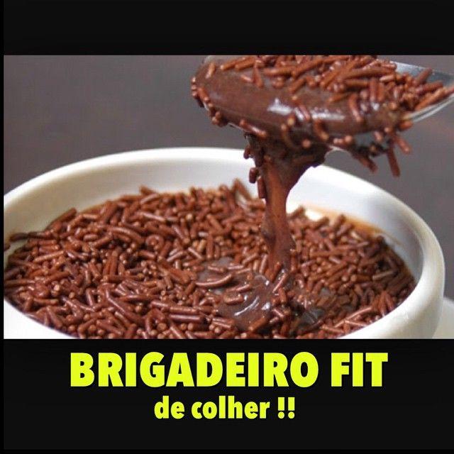 BRIGADEIRO FIT DE COLHER.