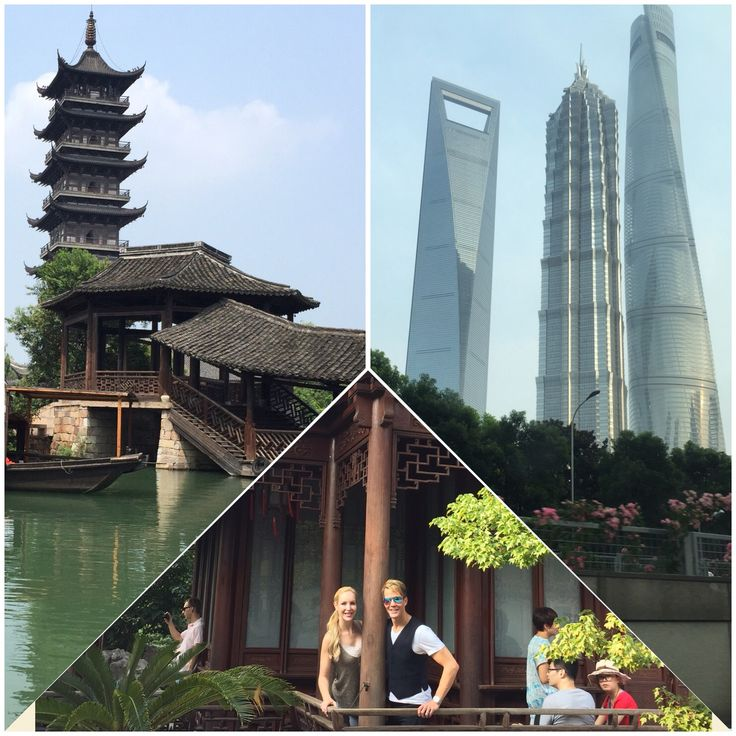 Sightseeing! The Ancient and the Modern. Love that #Shanghai has it all! #tourist #China #travel