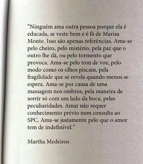 Grandes e pequenos detalhes Marta Medeiros