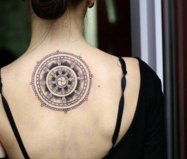 tatuajes con simbolos rueda