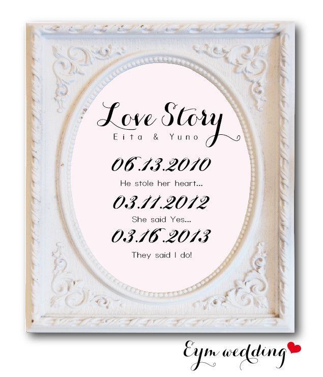 【DIY】LOVE STORYのススメ|【She Said Yes!】 Fro… |Ameba (アメーバ)