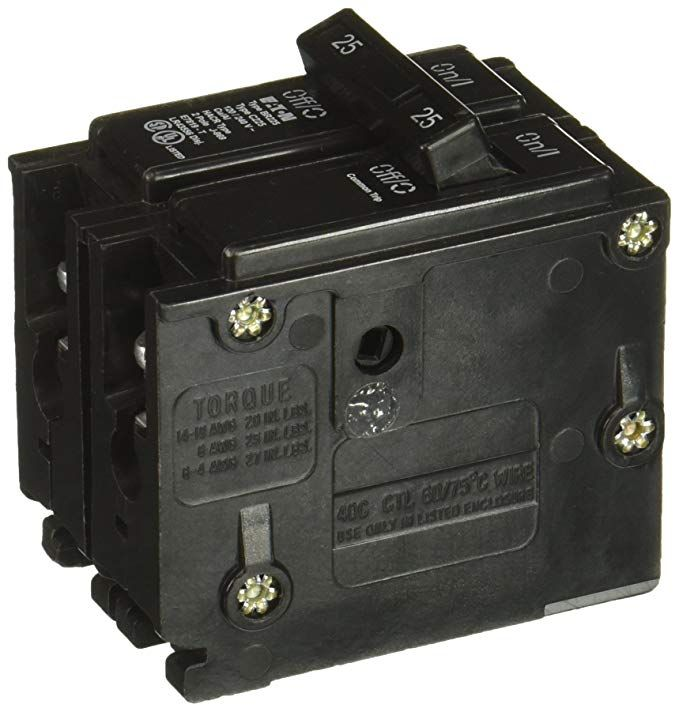Br225 25 Amp Plug On Circuit Breaker Review Circuit Breakers Plugs
