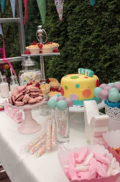 #Baby #Shower #Party #Swee #table - MyPinkParty.de  Dekoshop www.helavik.de