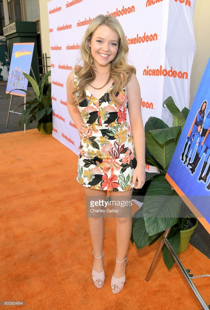 Actor Jade Pettyjohn celebrates the 100th episode of Nickelodeon's The Thundermans at Paramount Studios on June 28, 2017 in Hollywood, California.