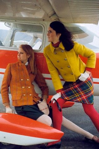1960s Winter fashion. I can get in to this.