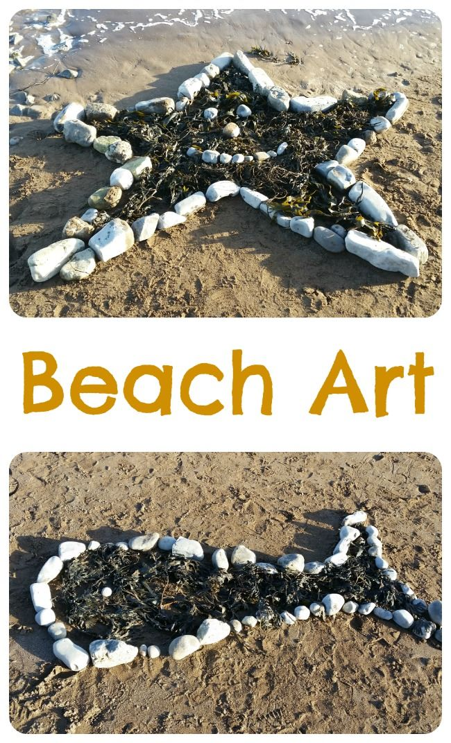 Getting creative with Beach Art