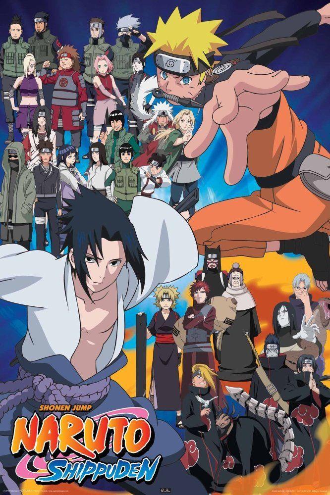 2007_17 Naruto Shippuden - Japan - Directed by Kishimoto Masashi , With Takeuchi Junko , Nakamura Chie , Sugiyama Noriaki , Inoue Kazuhiko - Comedy , Action , Fantasy - ★★★★☆