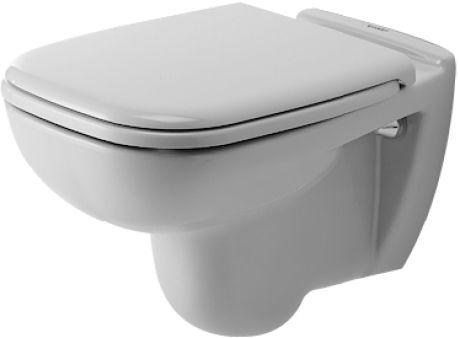 Vägghängd Toalettstol Duravit D Code Med softclose sits