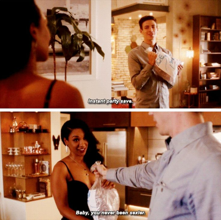 "#TheFlash 3x10 ""Borrowing Problems From The Future"" - Barry and Iris"