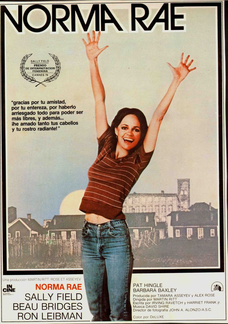 reaction paper over norma rae Summaries like a lot of her family before her, norma rae works at the local textile mill, where the pay is hardly commensurate with the long hours and lousy working conditions.