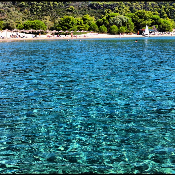 Tsougrias beach, Skiathos, Greece ©CharlotteOlsson www.saltyform.se