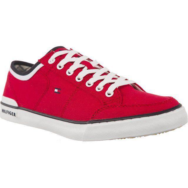 Polbuty Meskie Tommyhilfiger Czerwone Tommy Hilfiger Harrington 5d2 611 Chuck Taylor Sneakers Tommy Hilfiger Chucks Converse