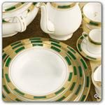 Aynsley China Empress Laurel 5Pc Place Setting