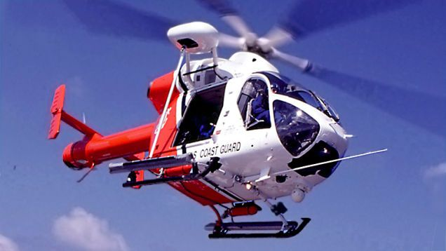 This Secret USCG Program Saw Exotic Armed Choppers Take On Fast Boats