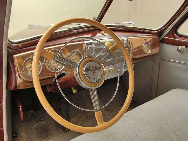 1941 Buick Special Steering Wheel View Classic Cars