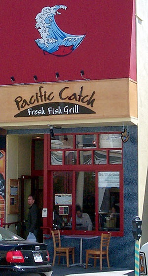 Pacific Catch in the Marina/Cow Hollow San Francisco. They also have on in the Sunset.