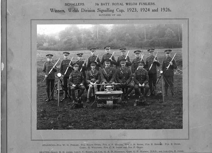7 RWF Signals Platoon.