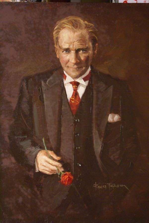 Ataturk Yagli Boya Tablo Turk Sanati Tablolar Resim