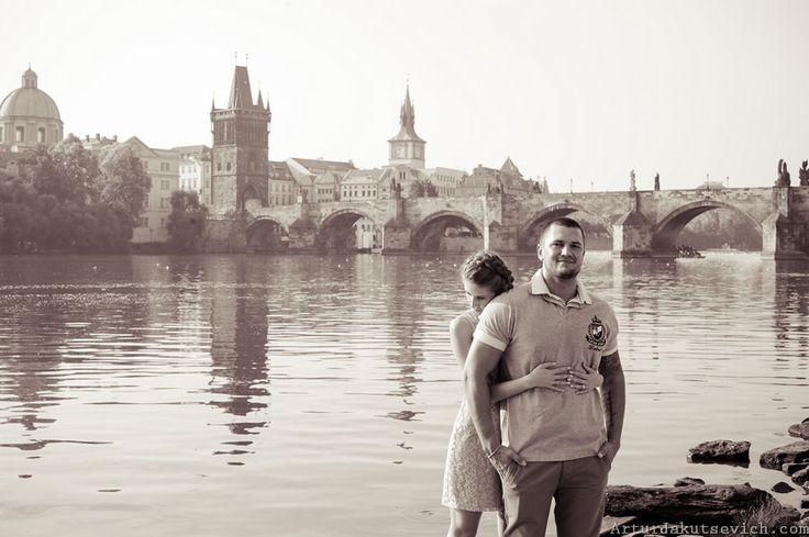 Photographer in Prague