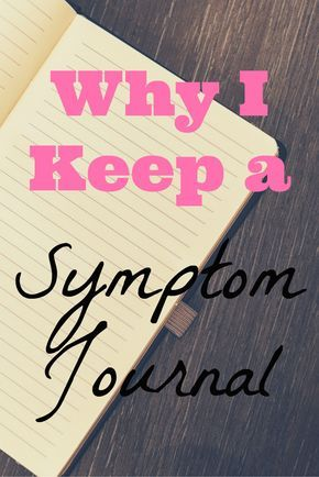 Knittering In Appalachia™ | Chronic Illness: Why I Keep a Symptom Journal | http://www.knitteringinappalachia.com/chronic-illness-why-i-keep-a-symptom-journal/