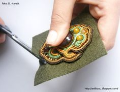 Soutache jewellery tutorial                                                                                                                                                                                 More