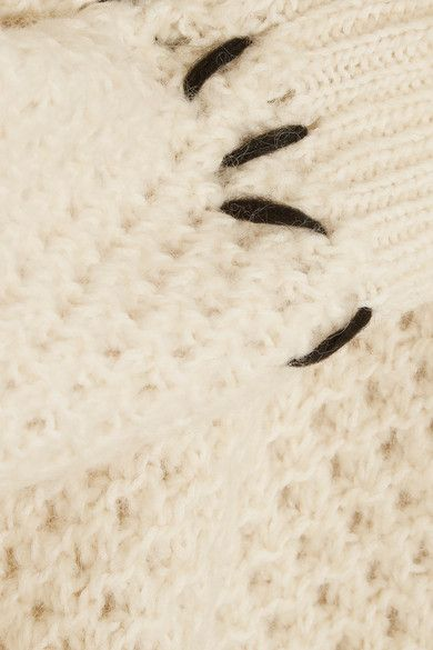 Isabel Marant - Goldy Chunky-knit Wool-blend Sweater - Ecru - FR