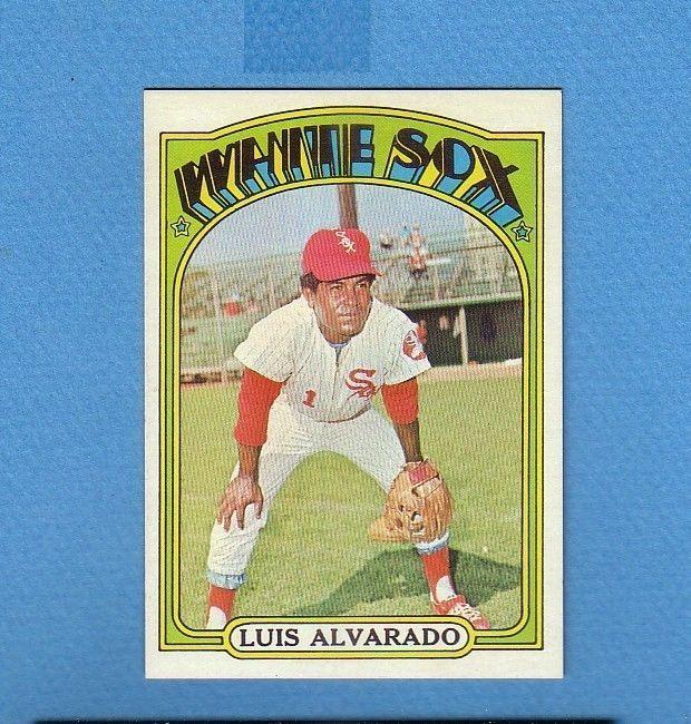 1972 TOPPS BREAK 774 LUIS ALVARADO WHITE SOX MINT!