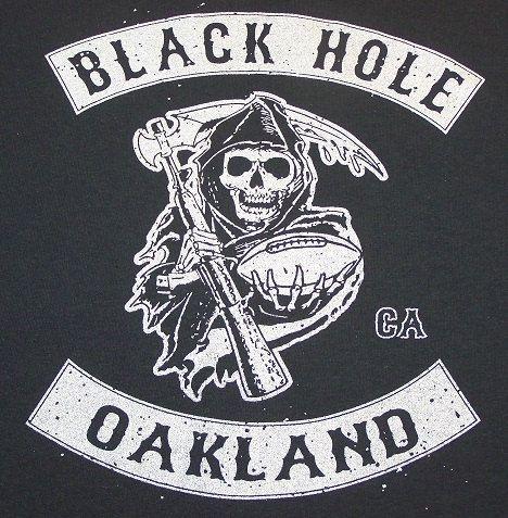 nfl oakland raiders black hole - photo #33