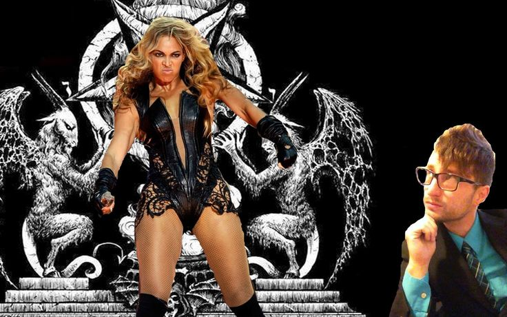Beyonce was Demon Possessed at SuperBowl Halftime Show!