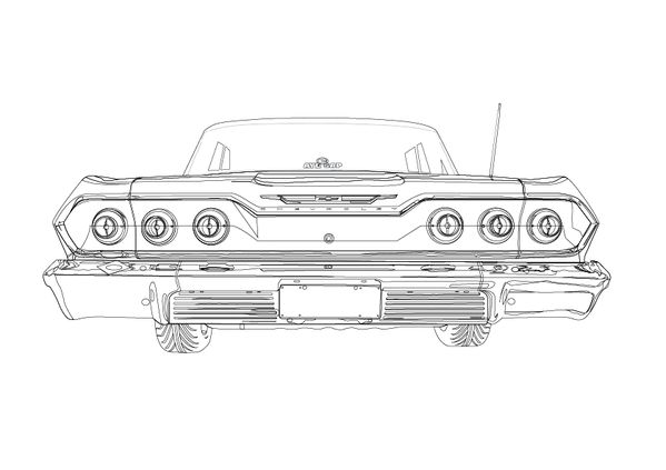 lowrider coloring pages google search arte pinterest lowrider
