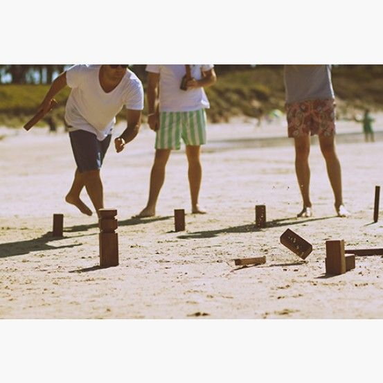 Handcrafted Kubb Set by Kubb Brothers #thekiwicollective #newzealand #newzealandsfinest