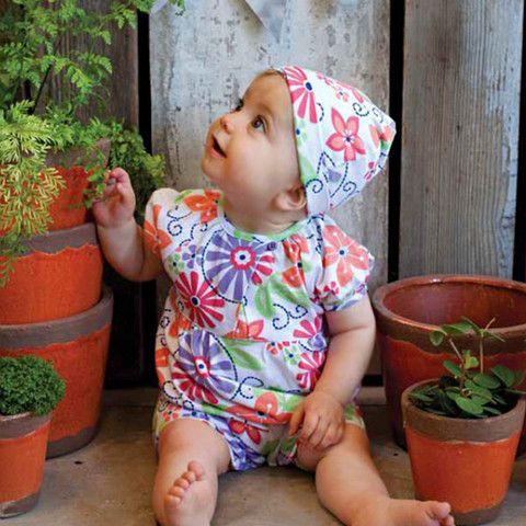 Floral romper suit – ukookoo