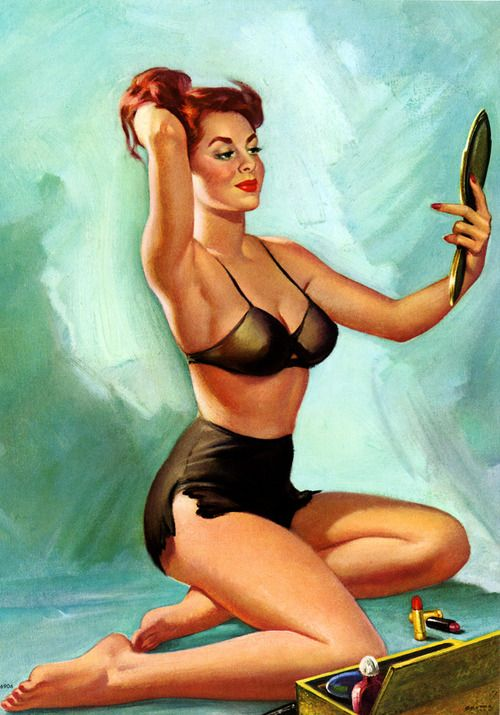 17 best images about mostly vintage pin ups on pinterest erotic art pin up and alberto vargas. Black Bedroom Furniture Sets. Home Design Ideas