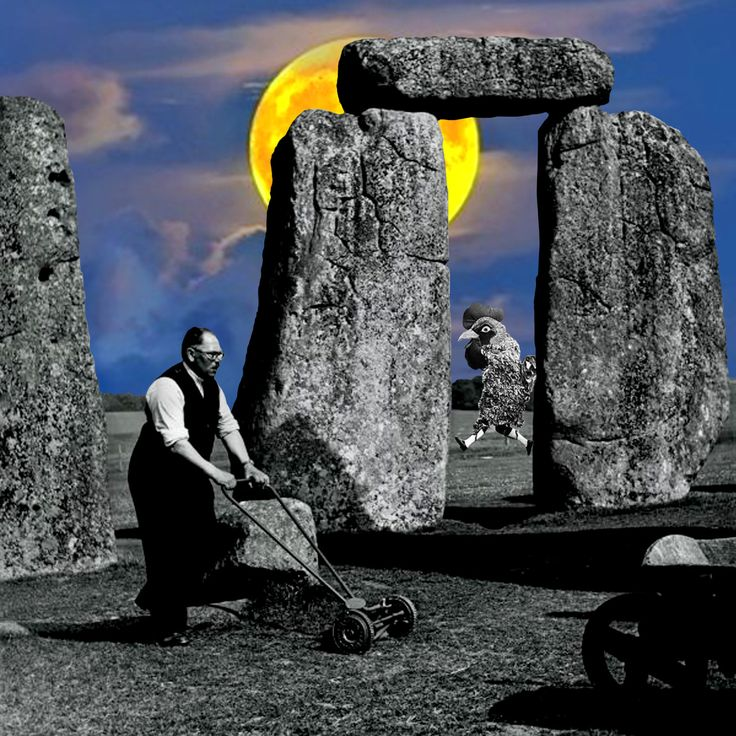 Meanwhile in Stonehenge. By Cane La