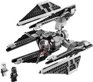 lego star wars classic series set 8087 tie defender with 6 flick launching - Gros Lego Star Wars