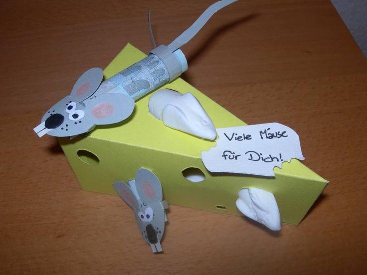 Viele Mäuse für dich   – Geldgeschenke / Gutscheine