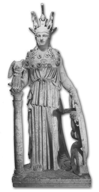Fidia - statua crisoelefantina Atena