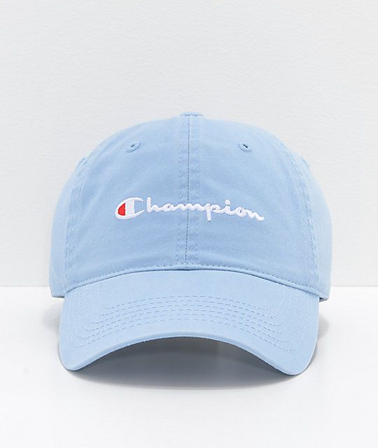 112cb97fded8b Champion Upstate Blue Strapback Hat in 2019