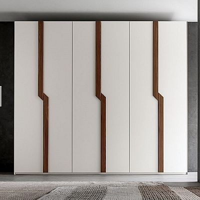 Ultramodern, wooden 'Corneille' wardrobe. Beautiful, contemporary piece. Incredible. High quality materials My Italian Living